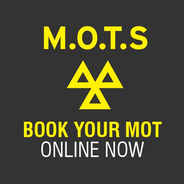 Book MOTs Online